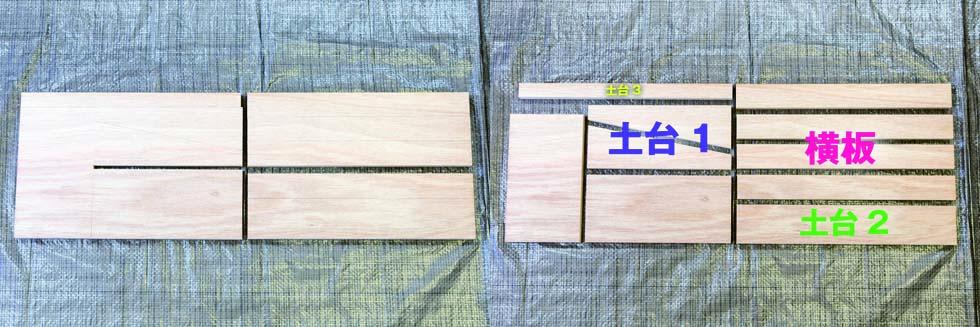 木材の切断加工