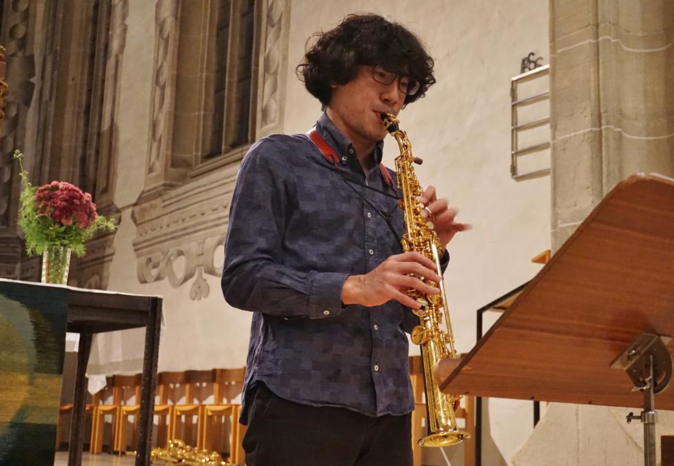 若きサックス奏者が挑戦するバッハの無伴奏曲(7)