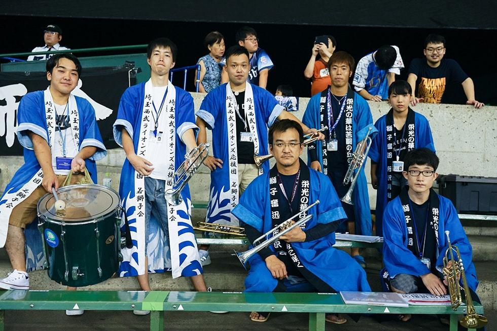 野球×音楽(西武私設応援団)1