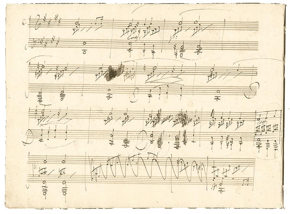 楽譜コラム(1)