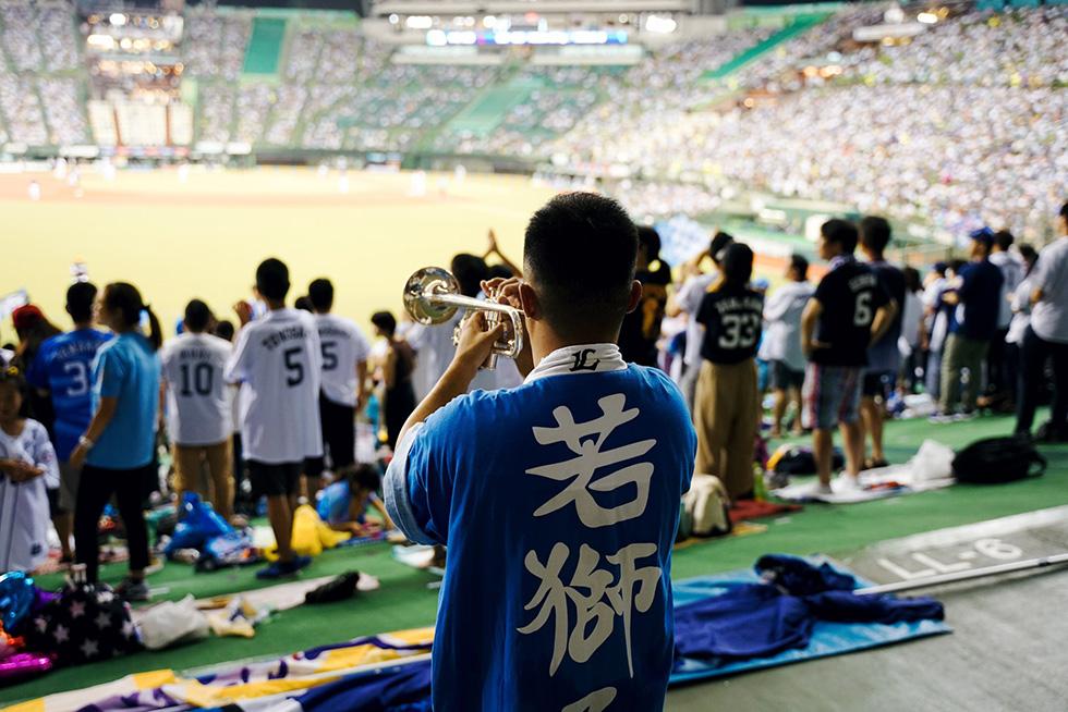 野球×音楽(西武私設応援団)10