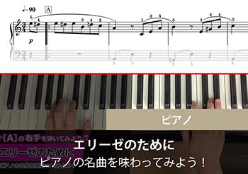【ピアノ】名曲を味わってみよう! エリーゼのために