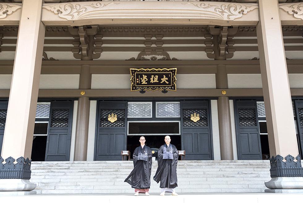 櫓の上は、修行僧にとっても憧れの場所(6)