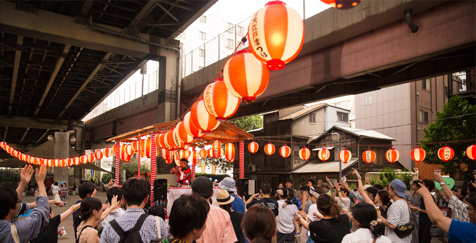 「まつりの作り方」アップデートされる盆踊り~中洲ブロックパーティ(東京都中央区)