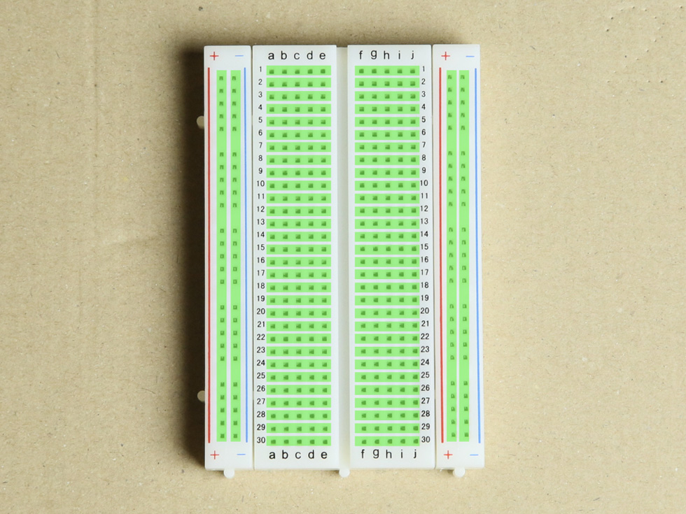 「Arduinoをはじめようキット」に含まれているパーツのみを使う(3)