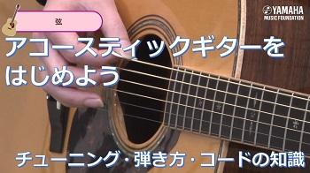 【アコースティックギターをはじめよう】中編:チューニング・弾き方・コードの知識